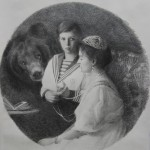 Alix Romanova with son