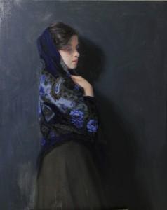 olie op doek / oil on canvas - 100 x 80 cm