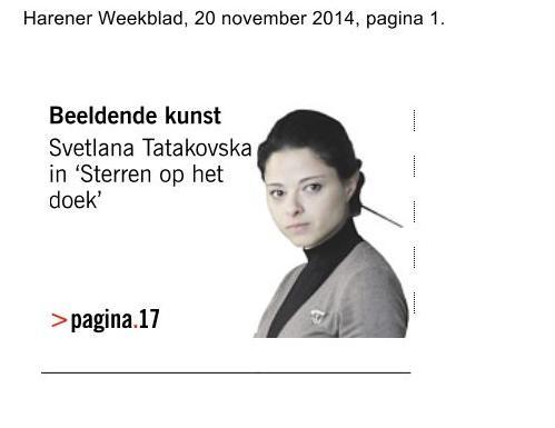 Svetlana in harener krant