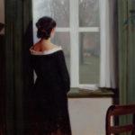 Bij het raam